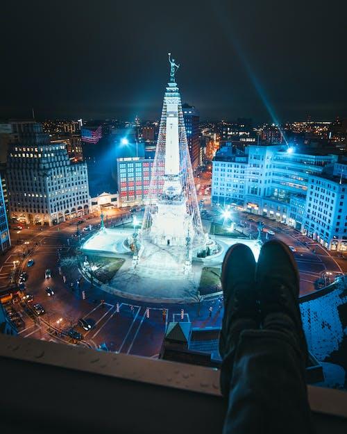 Foto profissional grátis de alto, ao ar livre, calmo, cenário