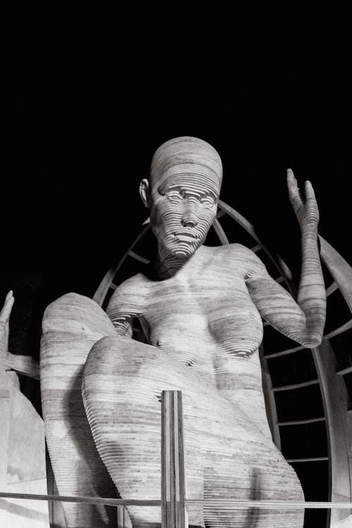 Foto profissional grátis de arte, close, escultura, estátua