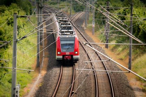 Gratis arkivbilde med deutsche bahn, elektrisk tog, jernbanelinje, jernbaner