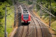 rails, train, railway