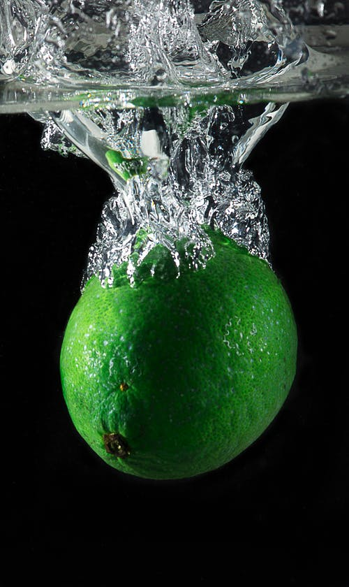 Close-up Photography Green Lime