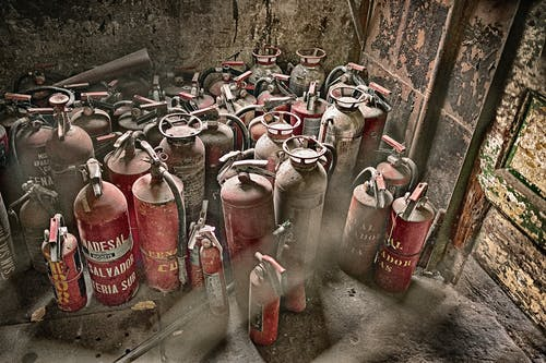 Free stock photo of cylinder, fire extinguisher