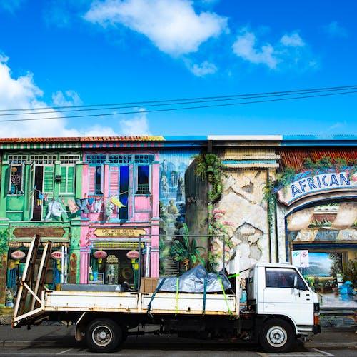 Free stock photo of Shopfront, tromploeil
