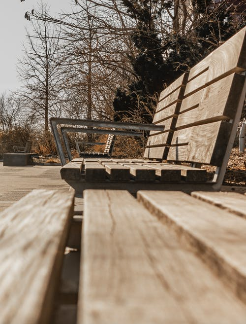Free stock photo of abstract, bench, black and white, Brigworkz