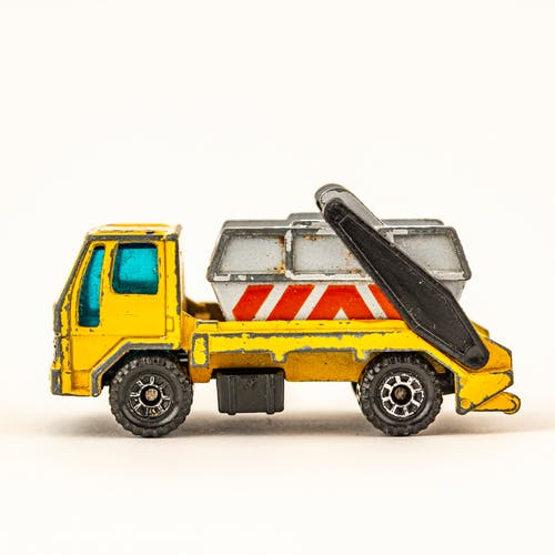 Free stock photo of Toy Truck, Vintage toy