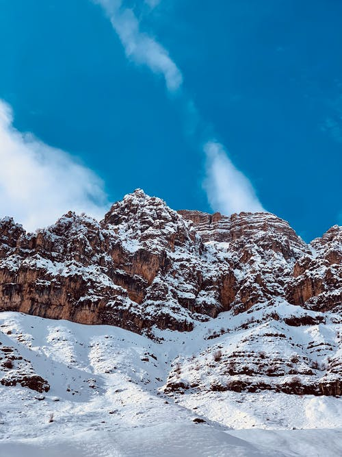 Δωρεάν στοκ φωτογραφιών με rock, βουνό, γαλάζιος ουρανός, γραφικός