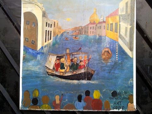 Ilmainen kuvapankkikuva tunnisteilla lasten piirustukset union canal edinburghille