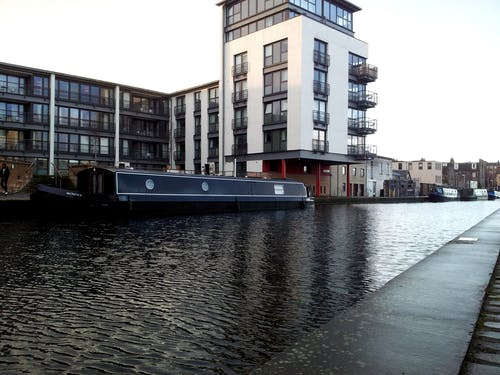 Ilmainen kuvapankkikuva tunnisteilla aamu unionin kanavan edinburghissa, edinburgh, satama, skotlanti