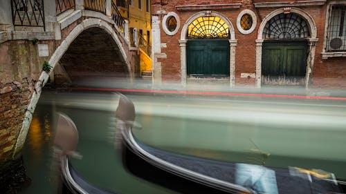 Free stock photo of canal, gondolas, long exposure, venezia