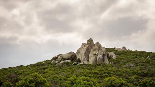 Free stock photo of clouds, rocks, vegetation