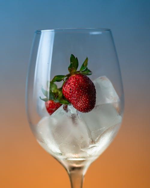 Photos gratuites de fraise, froid, fruit, glaçons