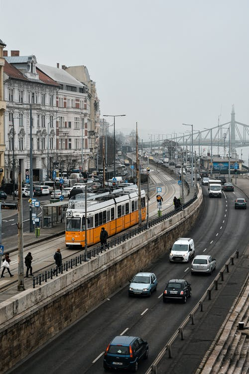 Бесплатное стоковое фото с Будапешт, венгрия, город, транспорт