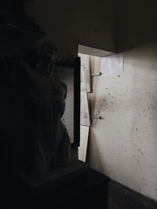 Foto d'estoc gratuïta de detalls, escultura, fosc, Rússia