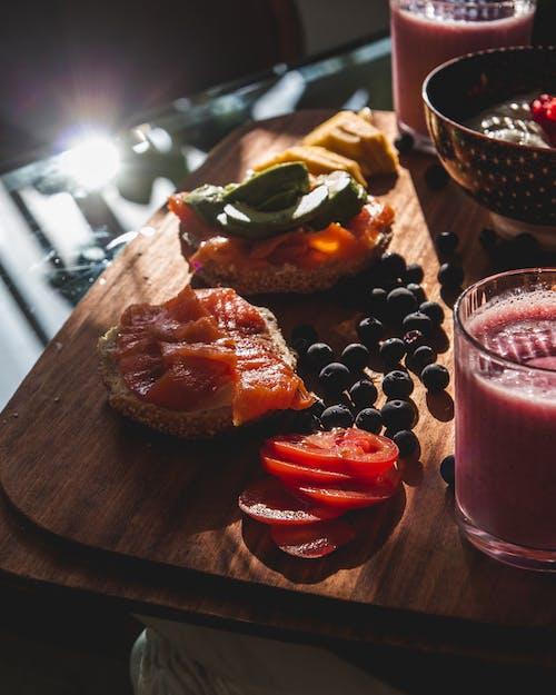คลังภาพถ่ายฟรี ของ การกินเพื่อสุขภาพ, การถ่ายภาพอาหาร, ตอนเช้า, บรันช์