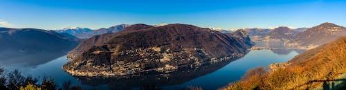 Free stock photo of ceresio, lake, panorama, Suisse
