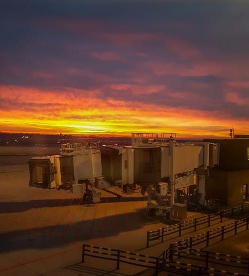 Free stock photo of airport, cold, dawn, early morning