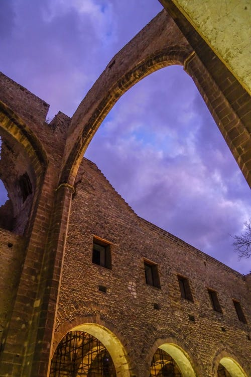 Free stock photo of abandoned, cathedral, clouds, gothic