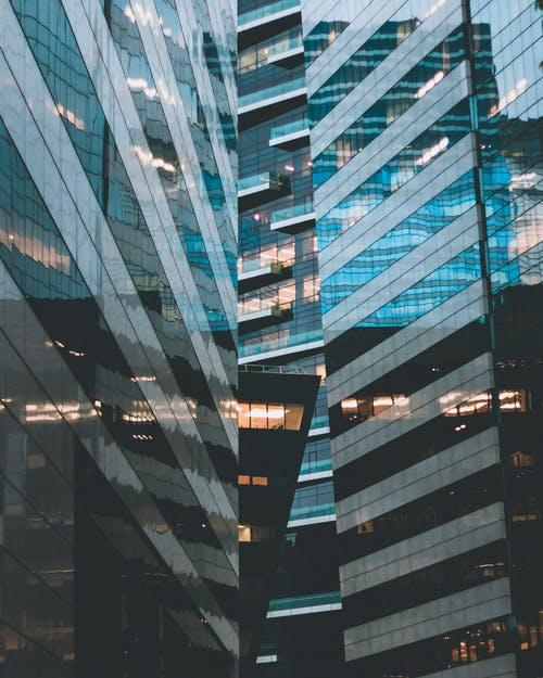 Free stock photo of architecture, blue, building