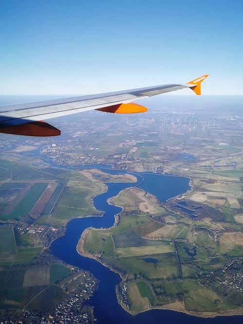 manzara, uçup gitmek içeren Ücretsiz stok fotoğraf