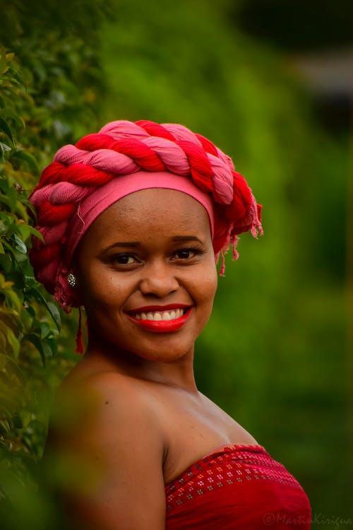 Free stock photo of african american woman, beautiful, bokeh