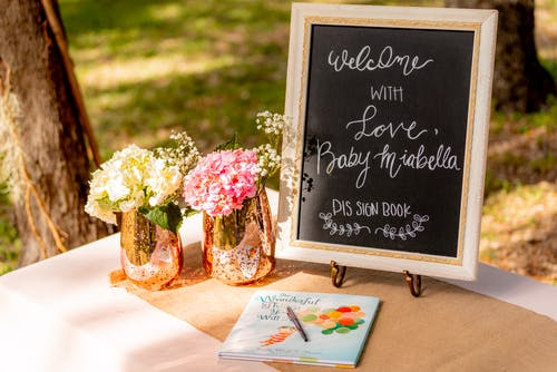 Free stock photo of baby shower, welcome