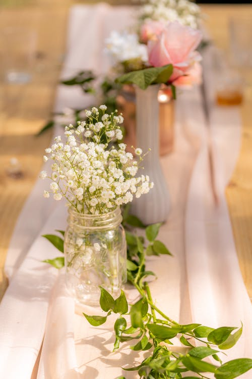 Free stock photo of baby shower, table set-up