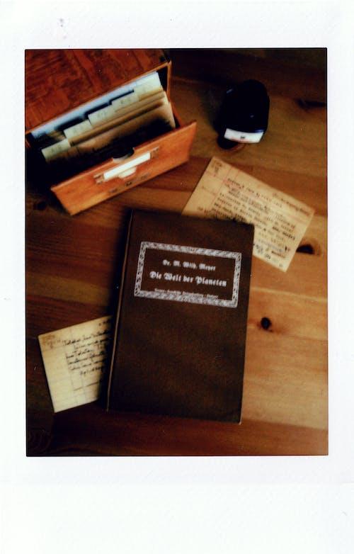 Základová fotografie zdarma na téma blok, deník, dřevěný stůl, dřevo