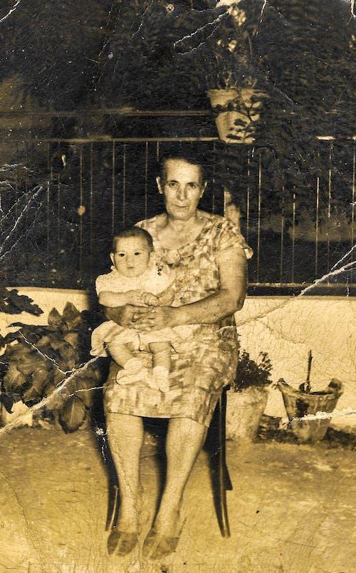 Fotos de stock gratuitas de abuela, antiguo, Grecia, niño