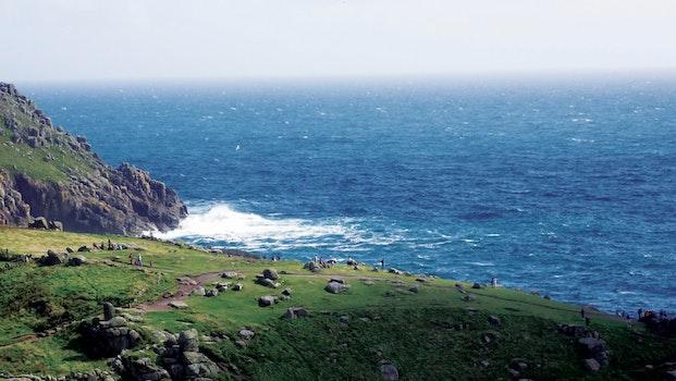 Free stock photo of sea, landscape, nature, beach