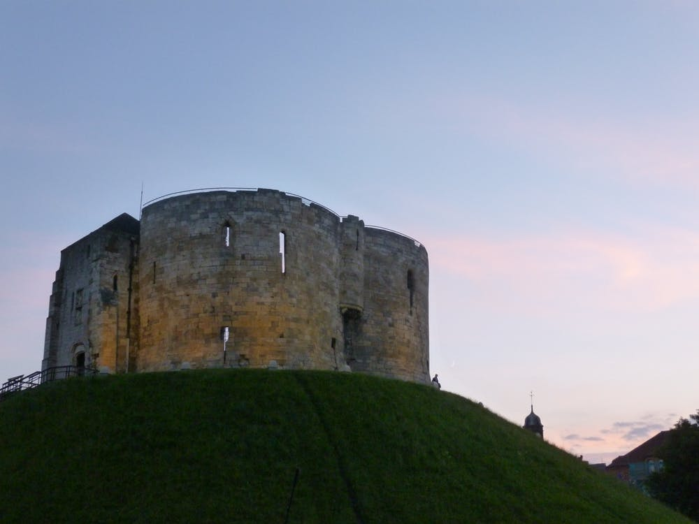 Free stock photo of castle, evening, fort