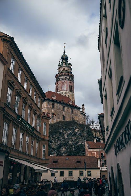 Základová fotografie zdarma na téma architektura, český krumlov, cestování, církev