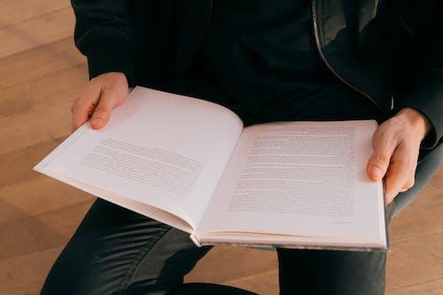 교과서, 독서하는, 독서하다, 문학의 무료 스톡 사진