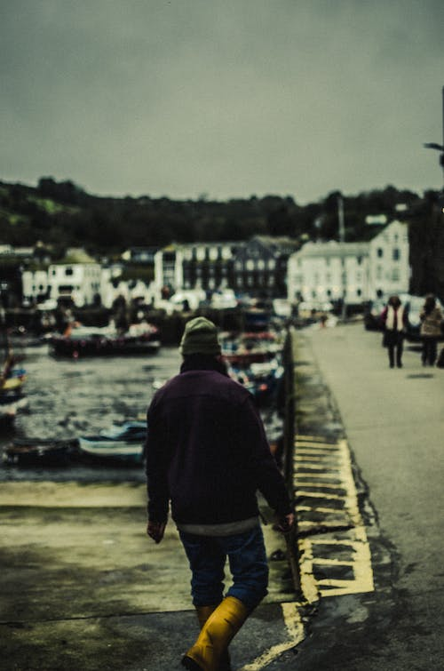 Free stock photo of cornwall, film, fisherman