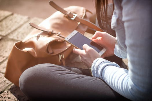 Free stock photo of person, hands, woman, smartphone