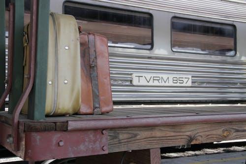 チャタヌーガ電車ターミナル, デポ, バックグラウンド, 列車の無料の写真素材