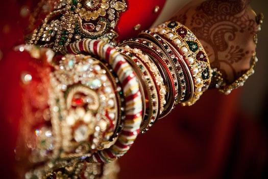 Free stock photo of fashion, decoration, pebbles, indian