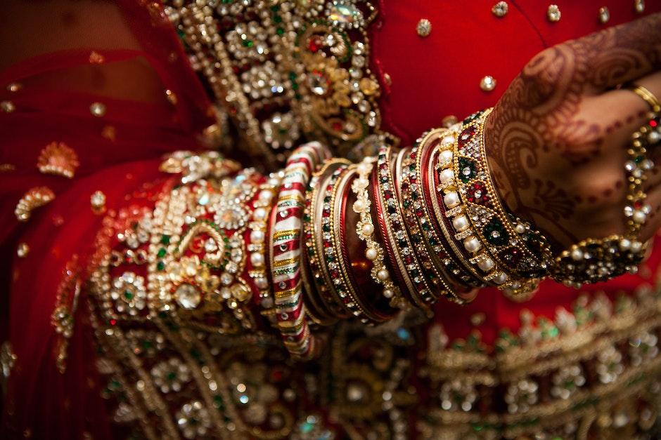 bracelets, hand, indian