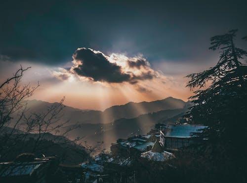 Free stock photo of beautiful sky, Beautiful sunset, blue sky, cloud forest