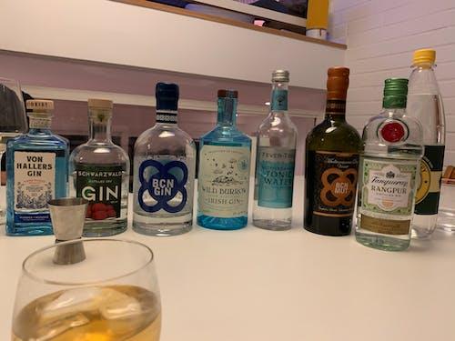 Free stock photo of gin