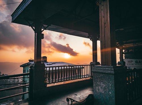 Free stock photo of beach house, beach sunset, beach view, Beautiful sunset