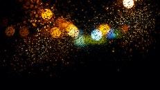 art, lights, water