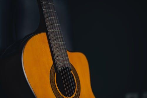 Бесплатное стоковое фото с акустическая гитара, гитара, музыка