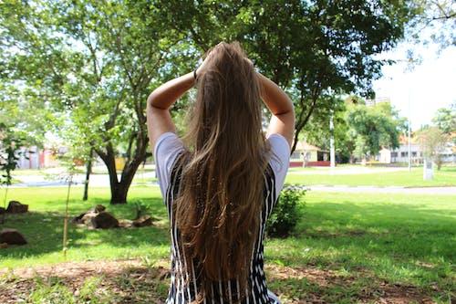 Free stock photo of girl, hair, natural
