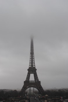 Free stock photo of eiffel tower, france, landmark, paris