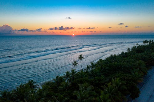 Gratis arkivbilde med daggry, hav, horisont, indiske hav