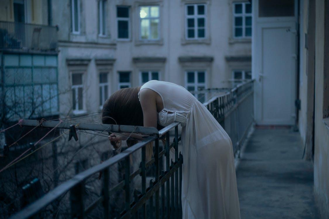 blanco y negro, depresión, Deprimido