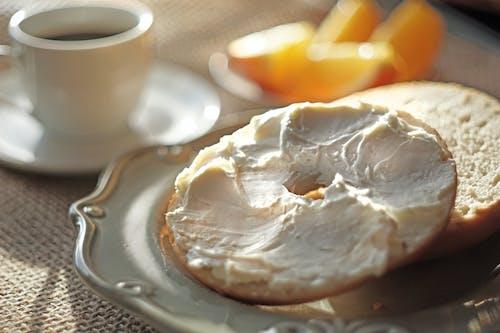 Fotos de stock gratuitas de bagles, desayuno, queso crema