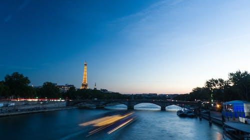 Timelapse Photo of Paris