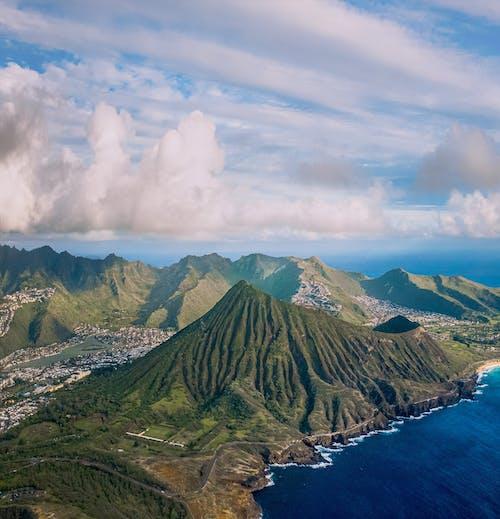 Imagine de stoc gratuită din aeriană, albastru, apă, apa de ocean