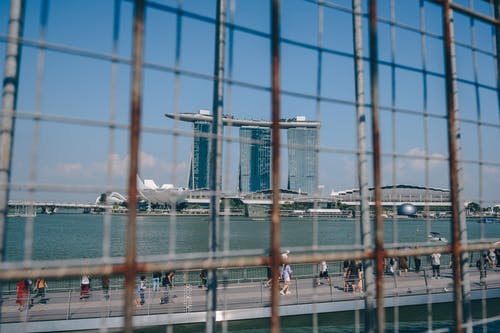 Free stock photo of Marina Bay Sands, singapore, tourism